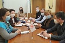 Рабочая встреча специалистов РНПЦ ТиМБ с представителями БОКК